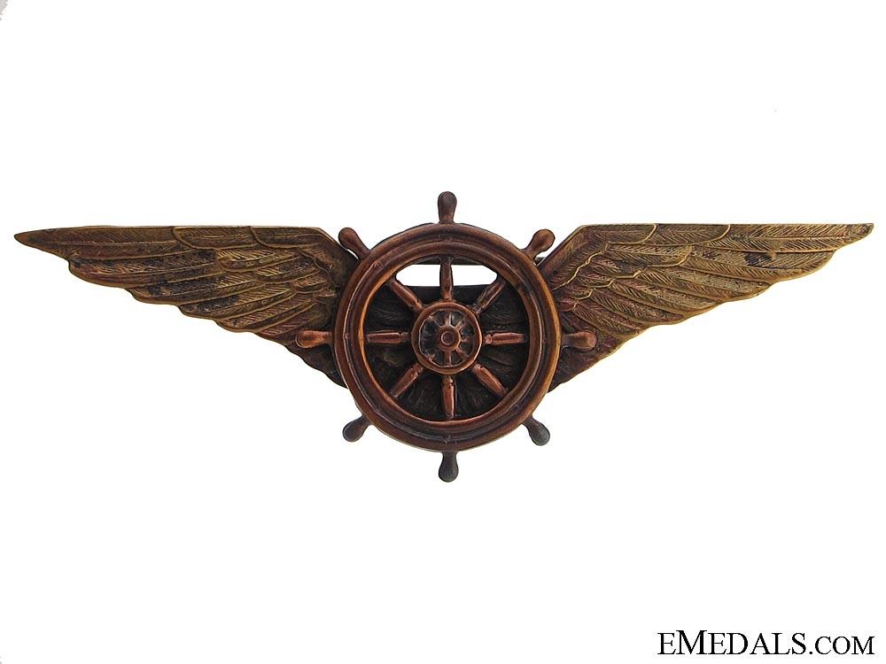 eMedals-Rare Italian Airship Pilot's Wings c.1920