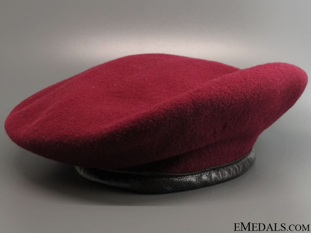 eMedals-Rare WWII British Airborne Force Beret 1945