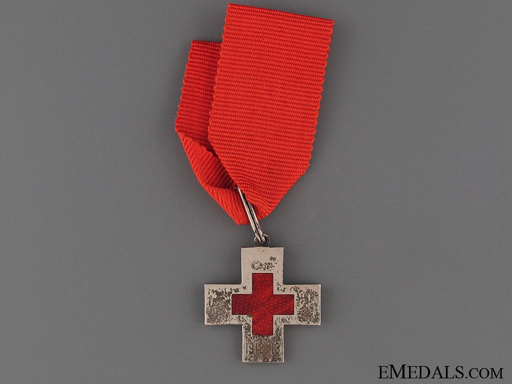 eMedals-Red Cross Decoration for the Balkan Wars 1912