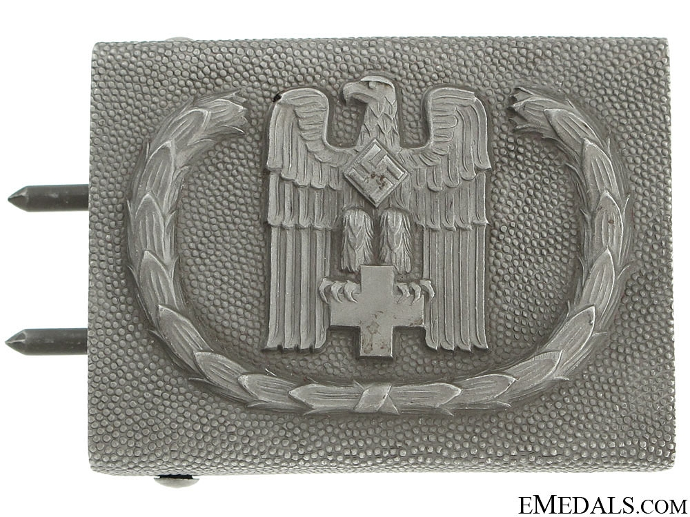 eMedals-Red Cross Enlisted Belt Buckle