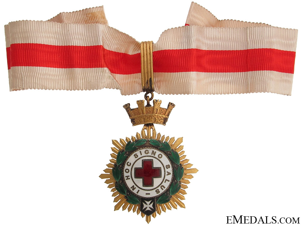eMedals-Red Cross Honor Decoration - 1st Class