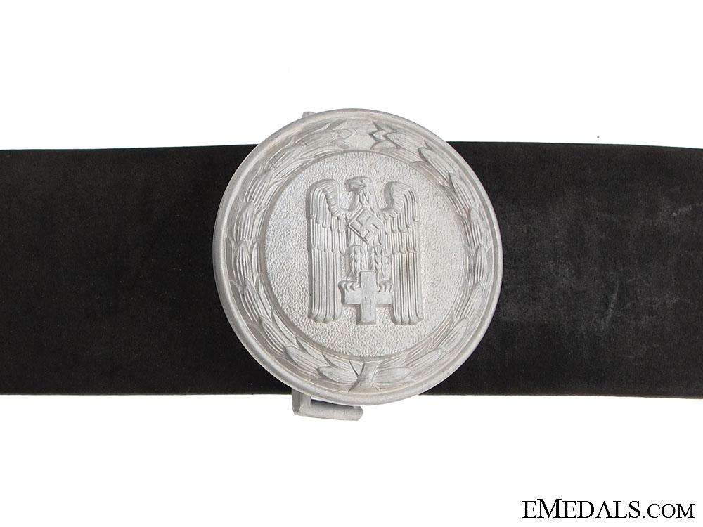 "eMedals-Red Cross Leader""¢¯s Buckle & Belt"