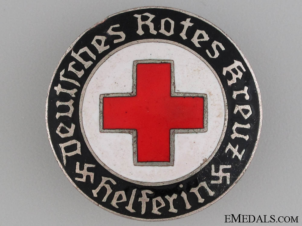 eMedals-Red Cross Nursing Badge