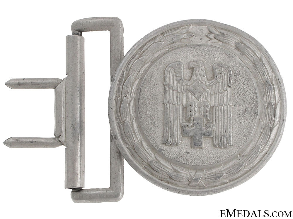 eMedals-Red Cross Officer's Buckle 1938