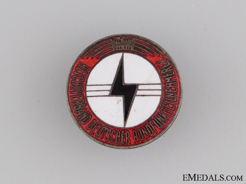eMedals-Reich Association of Radio Listeners Badge