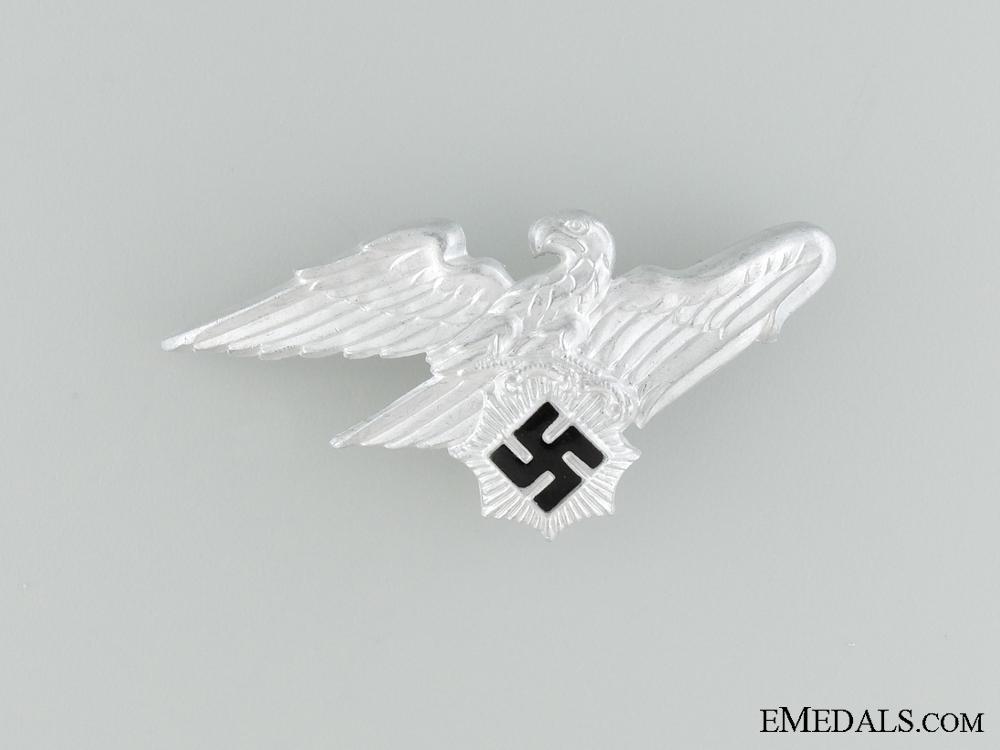 eMedals-Reichsluftschutz Bund Cap Badge