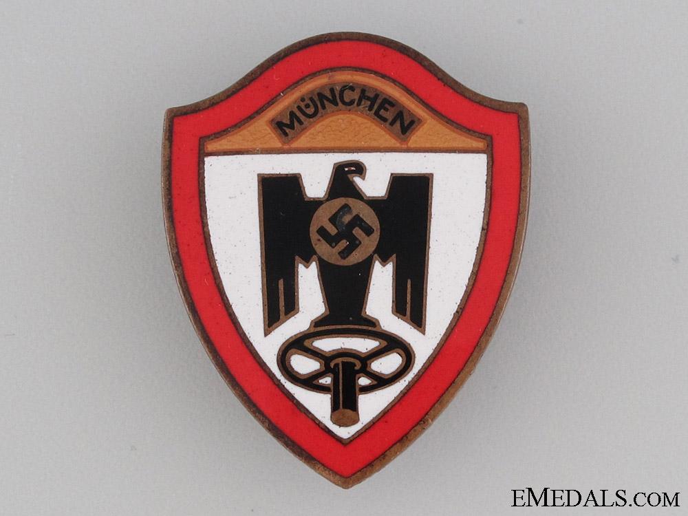 """eMedals-Reichsverband des Kraftfahrgewerbes München"""" Badge"""