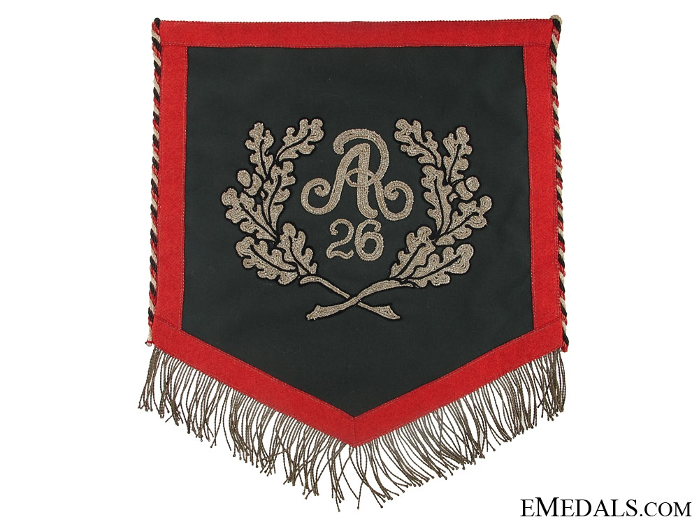 eMedals-Reichswehr Period Standard of the 26th Artillery Regt.