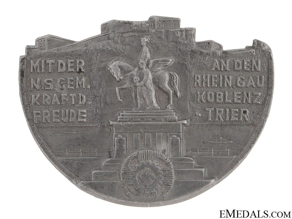 eMedals-Rhein Valley - Gau Koblez-Trier Tinnie