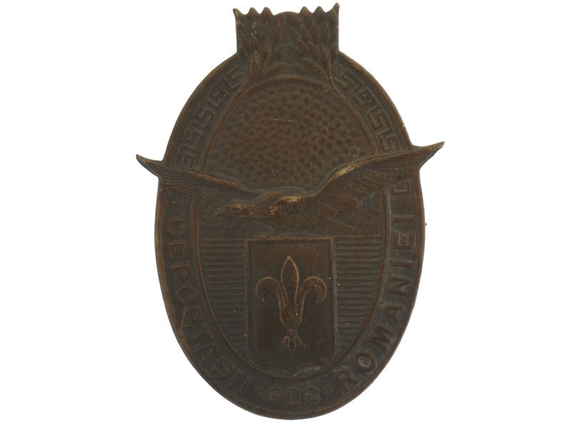 eMedals-Royal Romanian Military Scout Badge