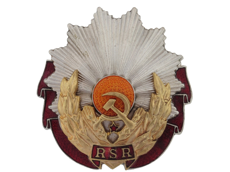 eMedals-Order of Labor, Type Two (1965-89) R.S.R.