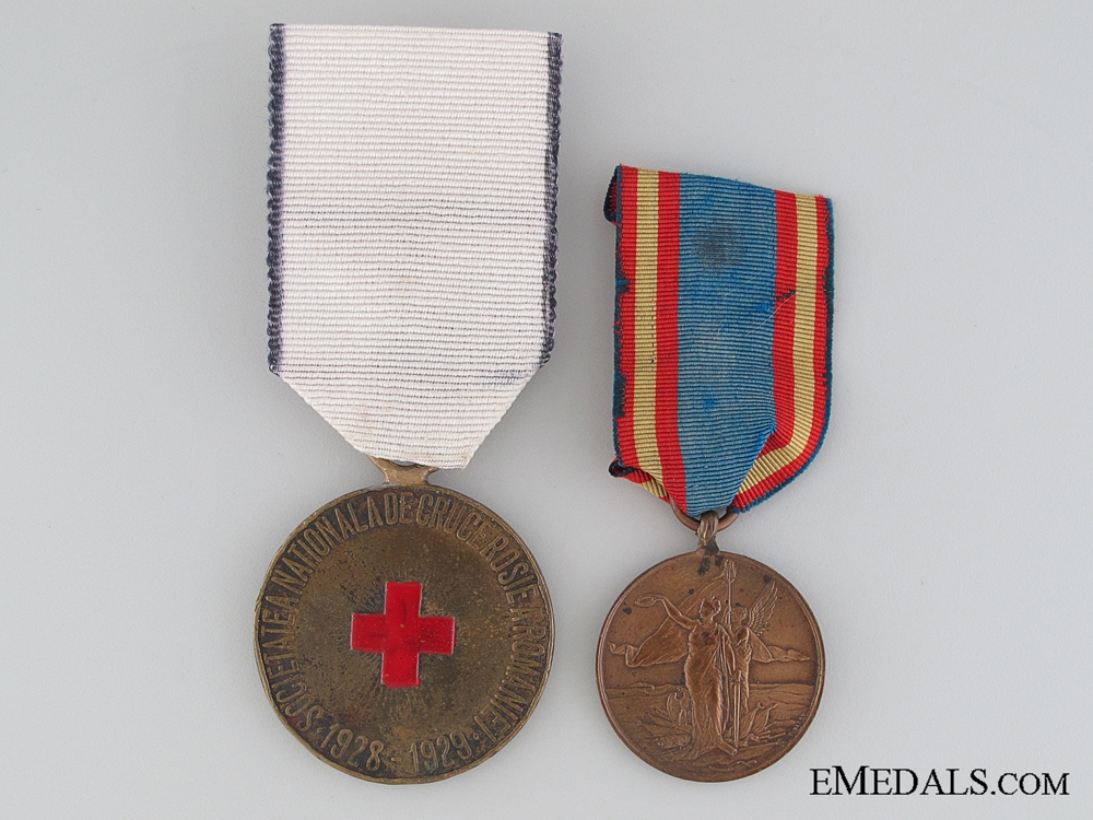 eMedals-Romanian Medal Pair