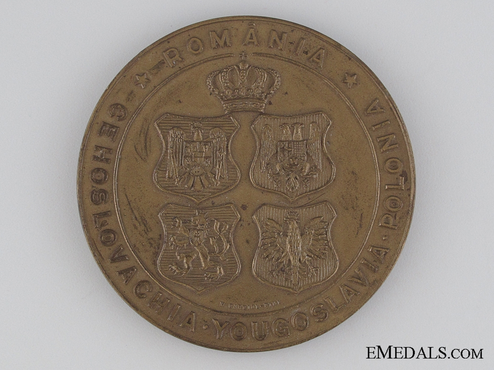 eMedals-Romanian Table Medal 1934