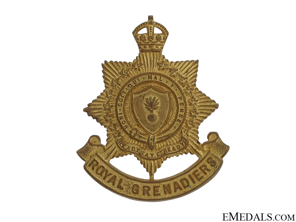 eMedals-Royal Grenadiers (Toronto) Cap Badge