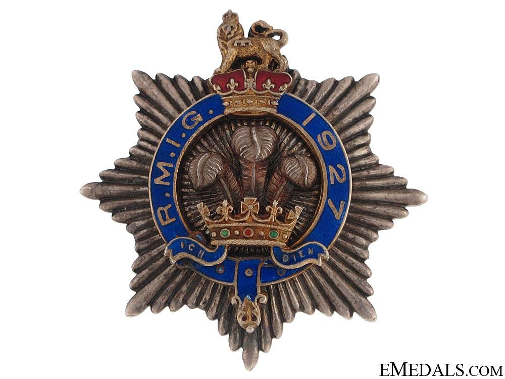 eMedals-Royal Masonic Institution for Girls (RMIG) Silver Star Breast Jewel