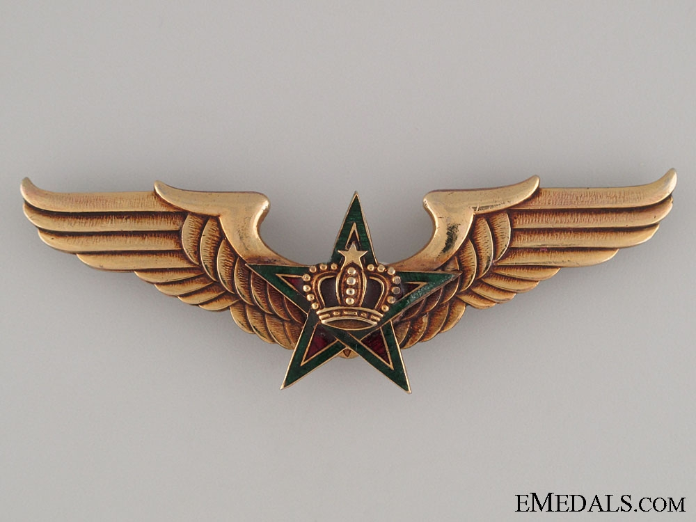eMedals-Royal Moroccan Air Force Pilot's Wings