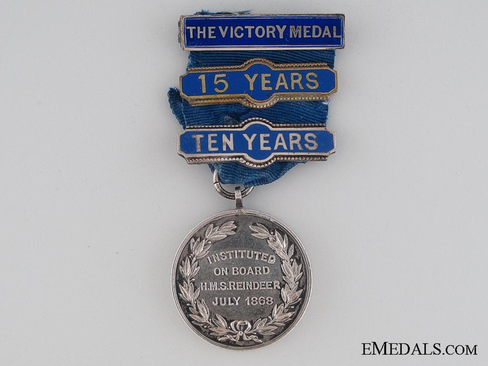 eMedals-Royal Naval Temperance Society Membership Medal
