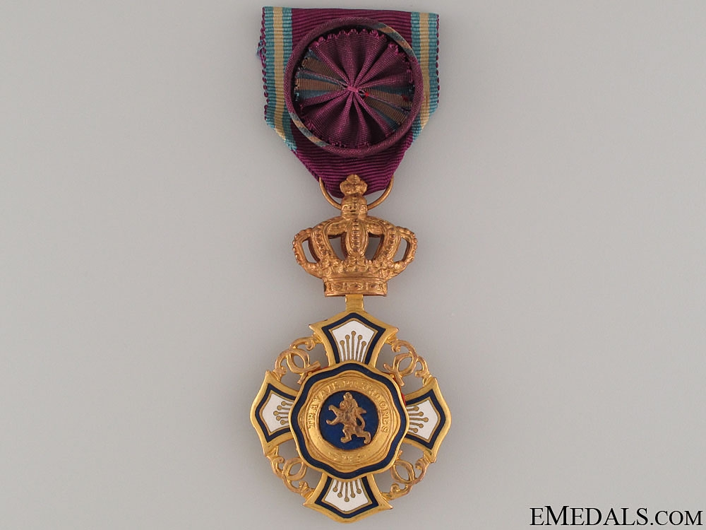 eMedals-Royal Order of the Lion (Belgium Congo)