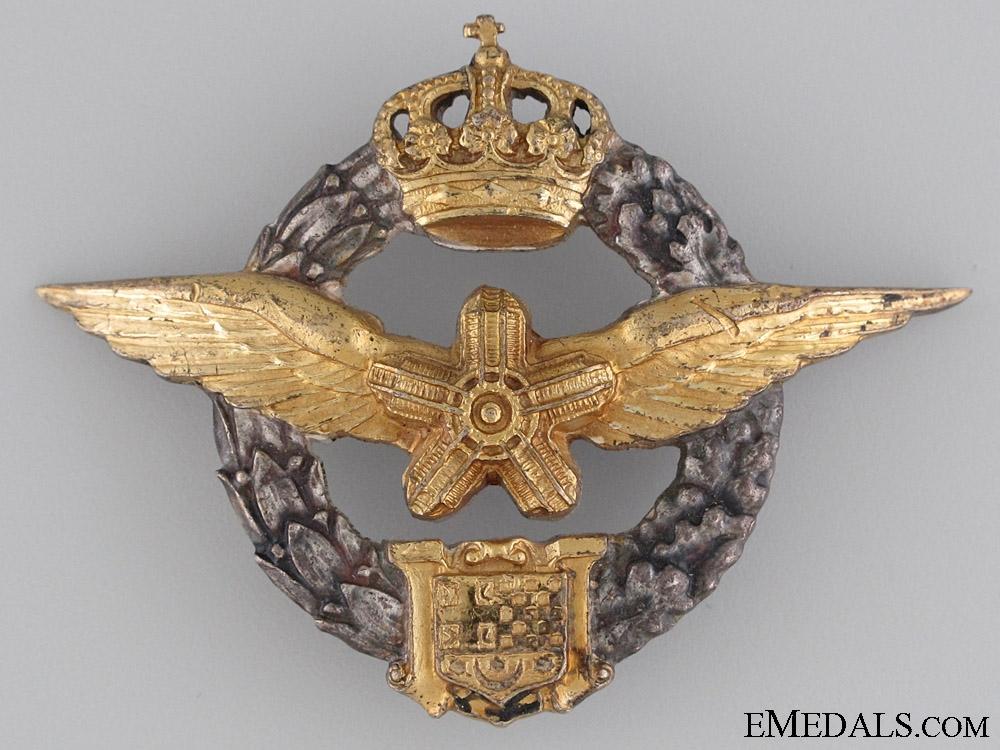 eMedals-Royal Yugoslav Air-Mechanic's Badge