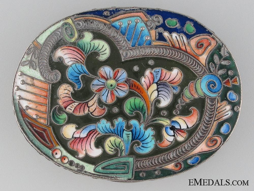 eMedals-Russian Silver Snuff Box
