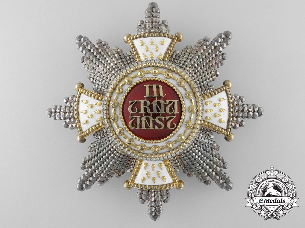 eMedals-A Bavarian House Knightly Order of St. Hubert by Rothe