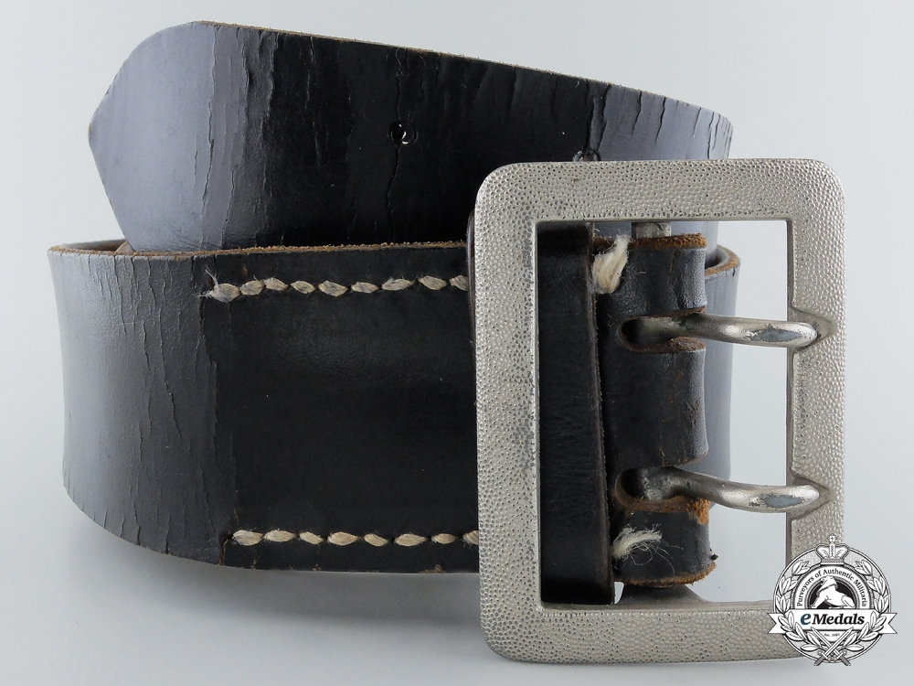 eMedals-A German Open Claw Buckle and Belt by Assmann