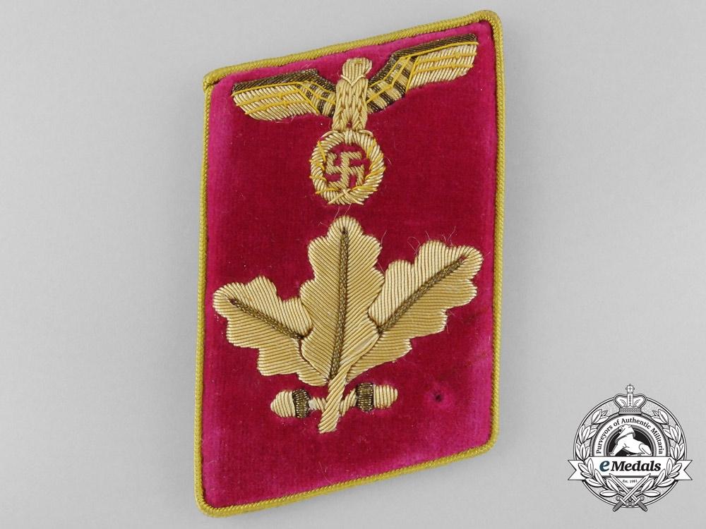 eMedals-NSDAP Reich Level Dienstleiter Collar Tab