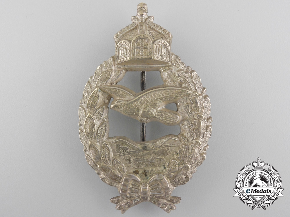 eMedals-A First War Prussian Pilot's Commemorative Badge