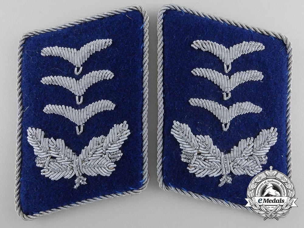eMedals-Luftwaffe Medical Unit Hauptmann's Collar Tabs