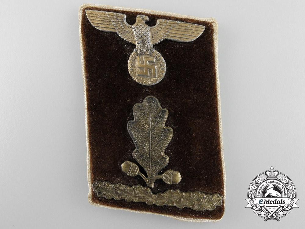 eMedals-An NSDAP Collar Tab; Kreis Oberabschnittsleiter