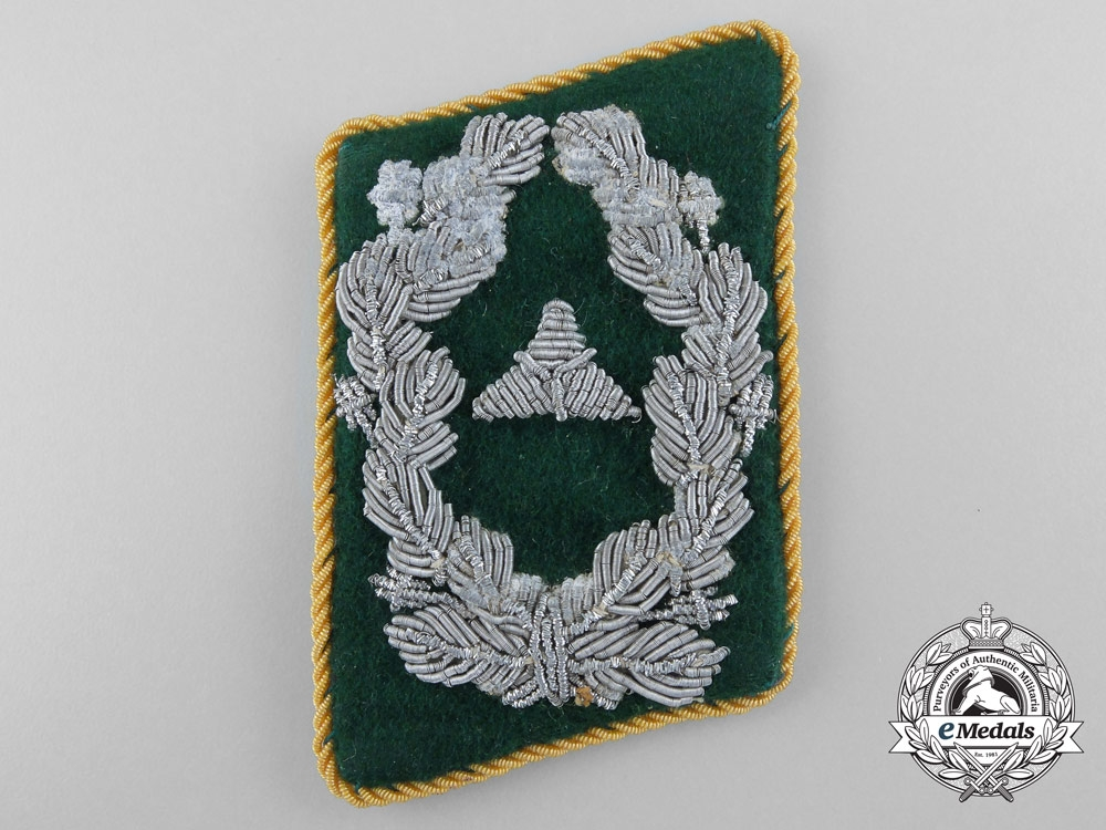 eMedals-Collar Tab of Luftwaffe Administration Staff; Pay Level 2