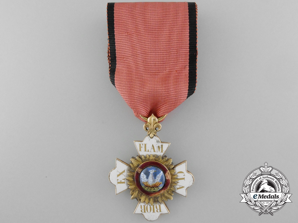 eMedals-A Rare & Early Hohenlohe House Order of Phoenix c. 1780