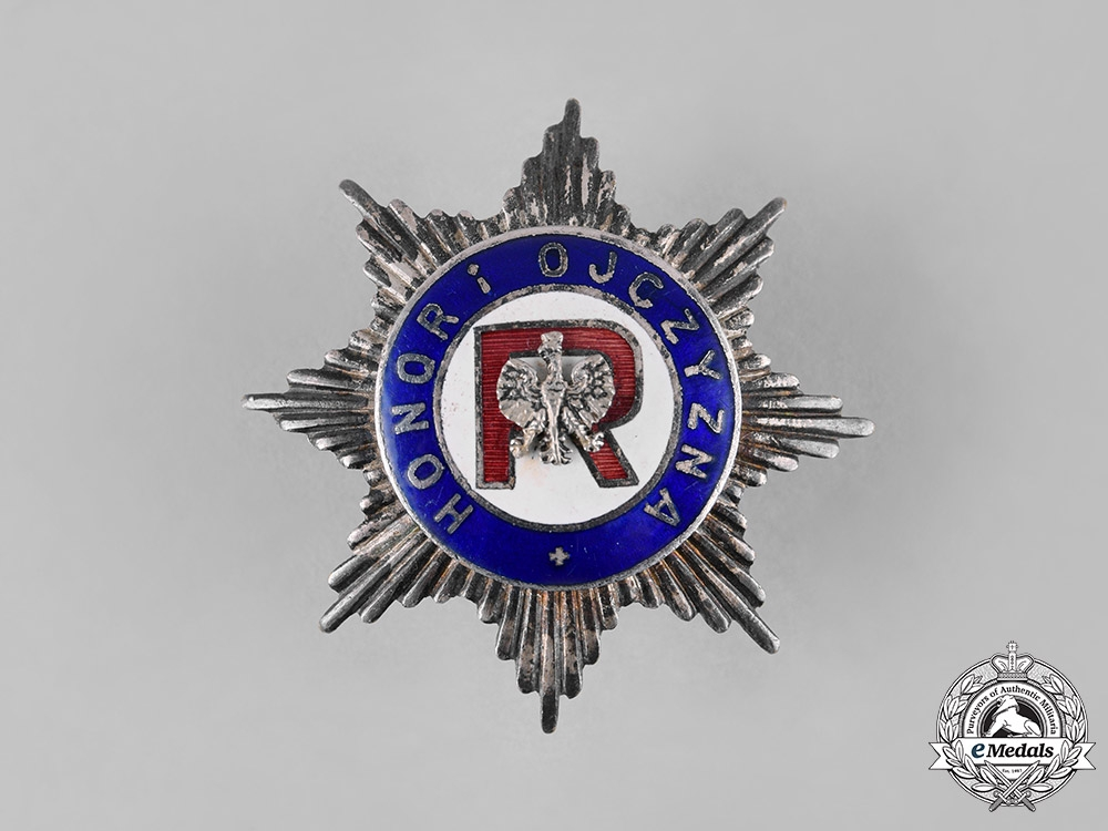 eMedals-Poland, Republic. An Association of Reservists Badge