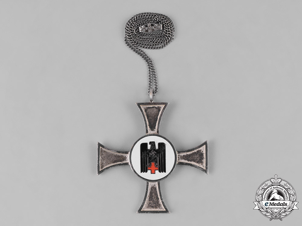 eMedals-Germany, DRK. A German Red Cross (DRK) Sister's Badge for 10 Years of Service