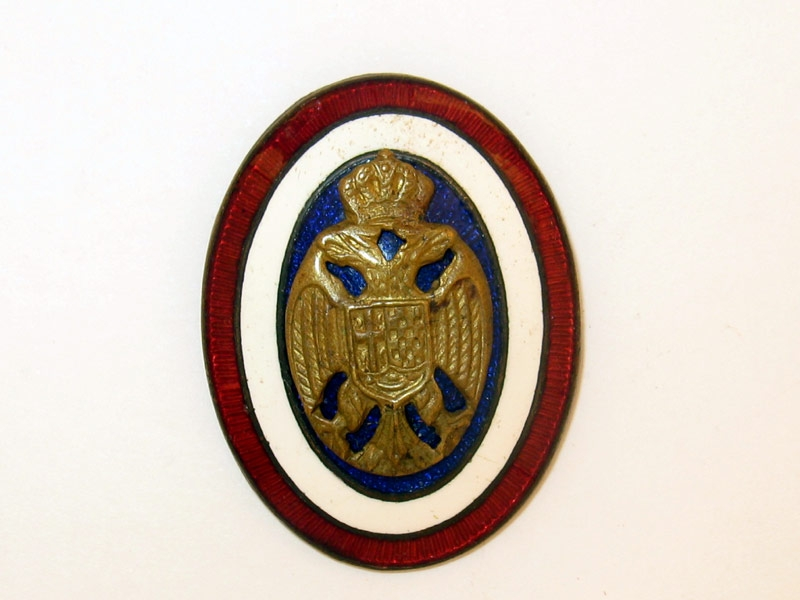 eMedals-Royal Yugoslav Officer's Cap Badge,