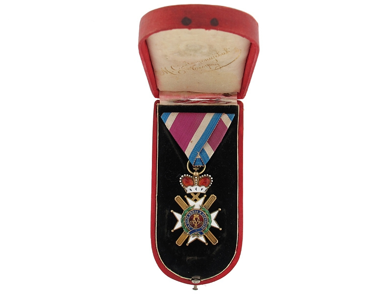 eMedals-Case-Order of Takovo