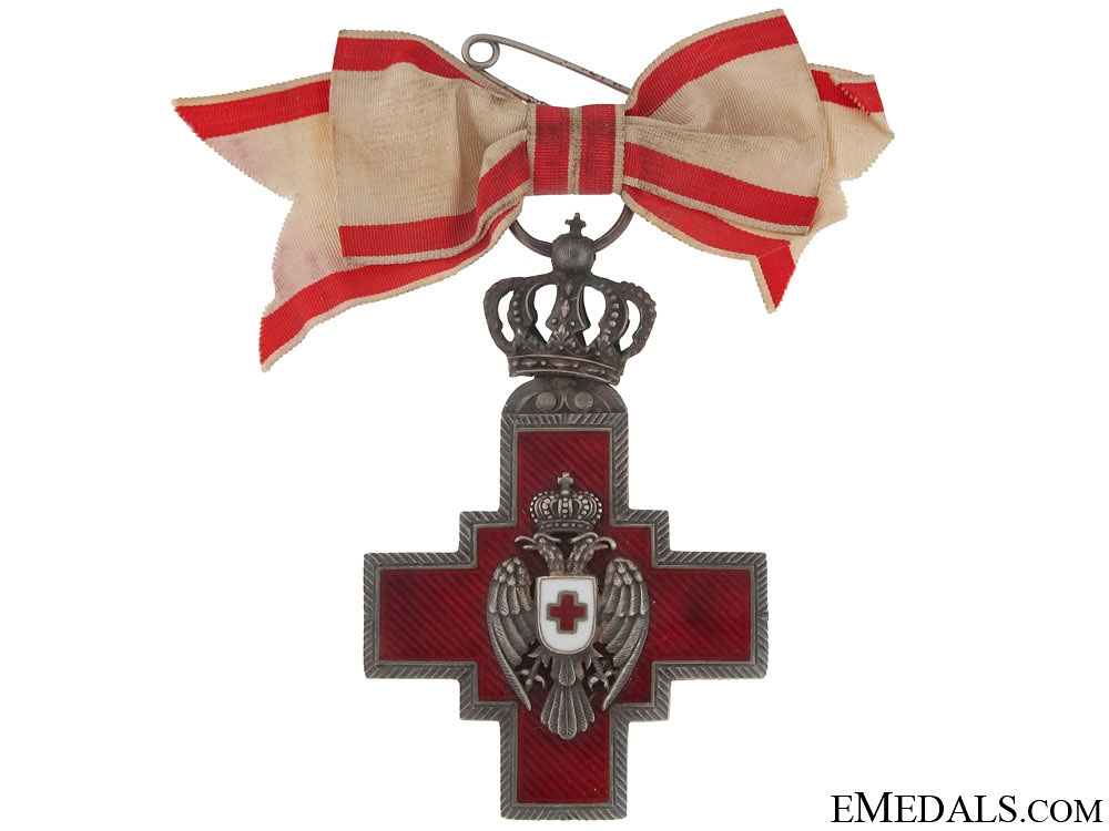 eMedals-Cross of the Red Cross Society, 1882-194