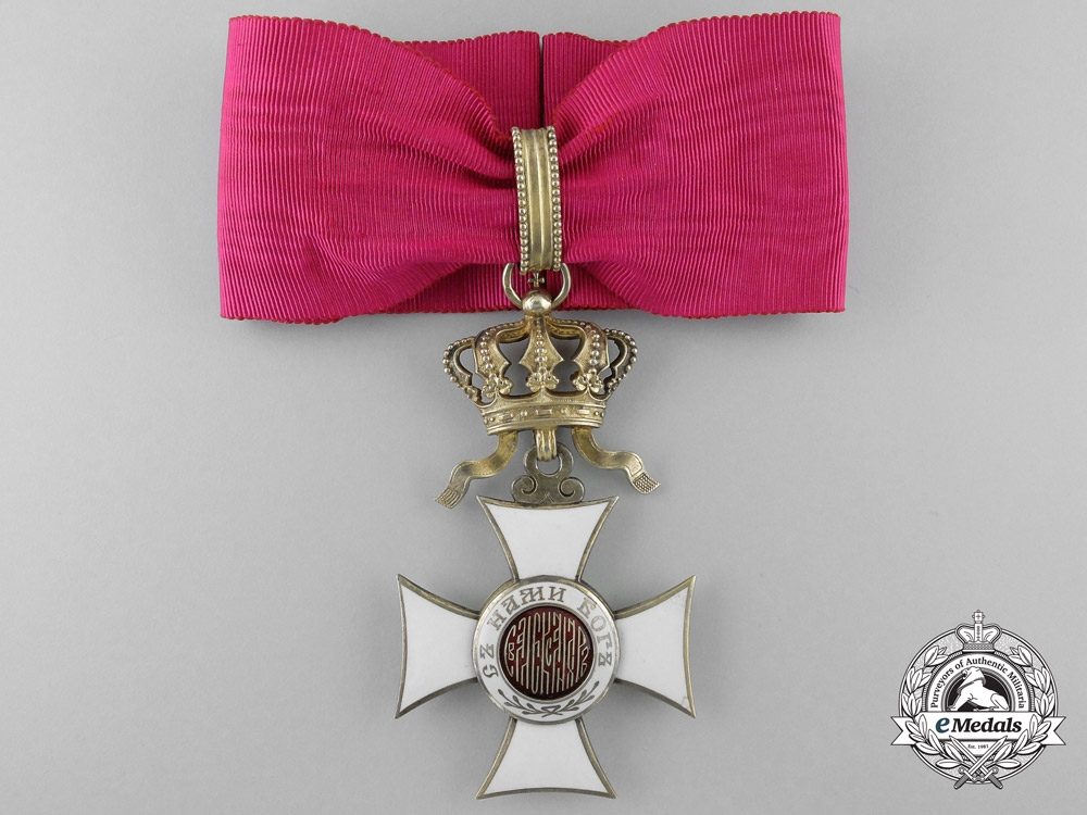 eMedals-Bulgaria, Kingdom. An Order of St. Alexander, Commander, by Rothe, Wien, c.1900