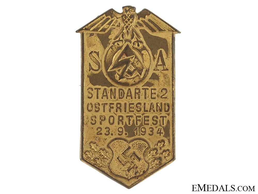 eMedals-SA East Frisia Sportfest Tinnie 1934