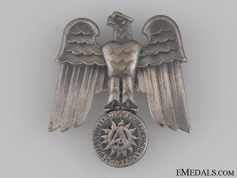 eMedals-SA Gruppe Hochland 1937 Day Badge