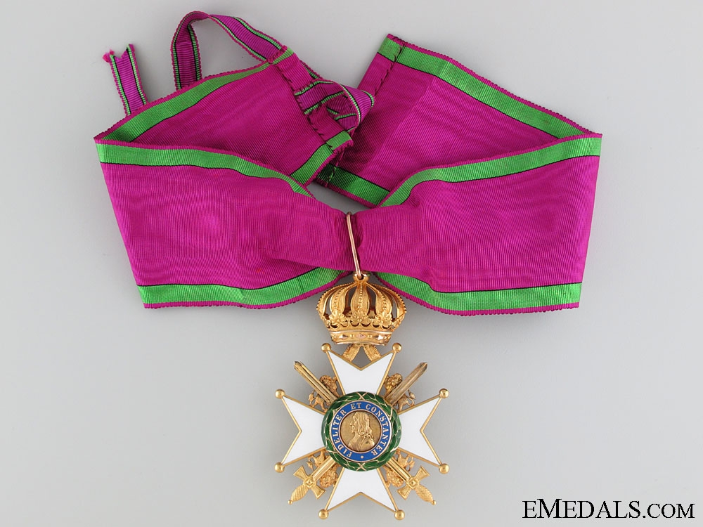 eMedals-Saxe-Ernestine House Order in Gold - Commander's Cross