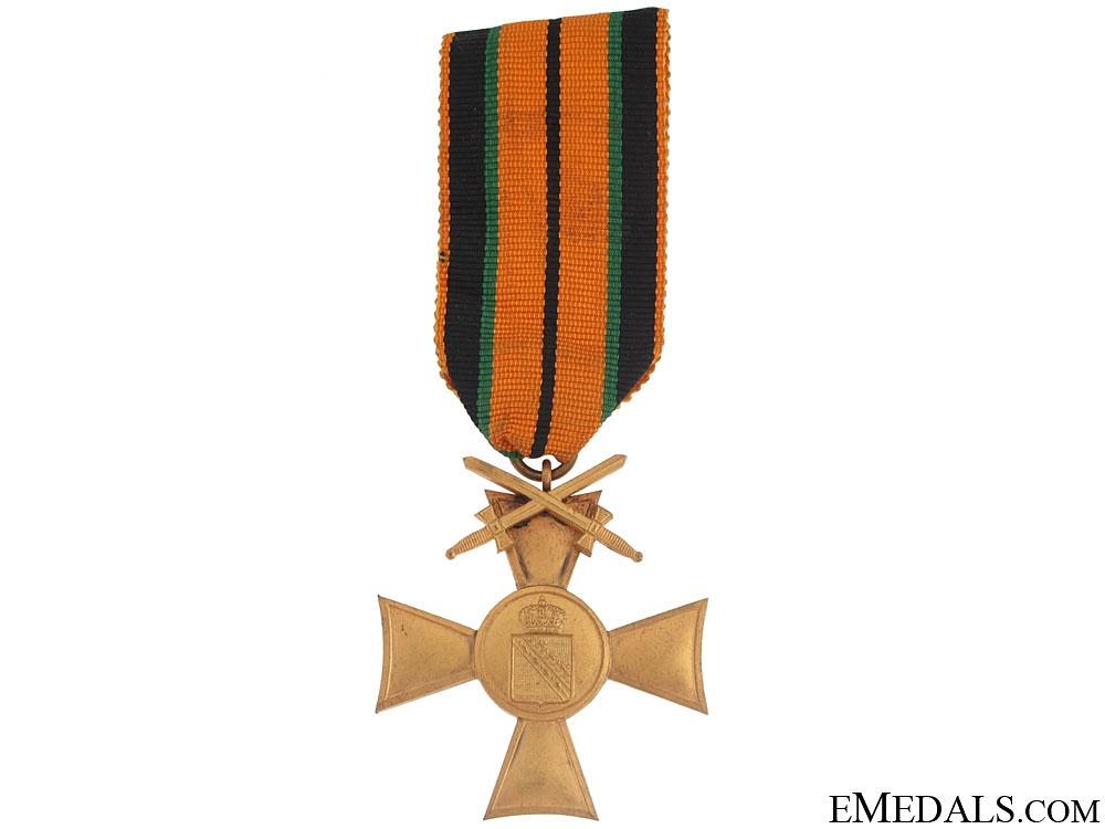 eMedals-Saxon WWI Veteran's Cross w/Swords