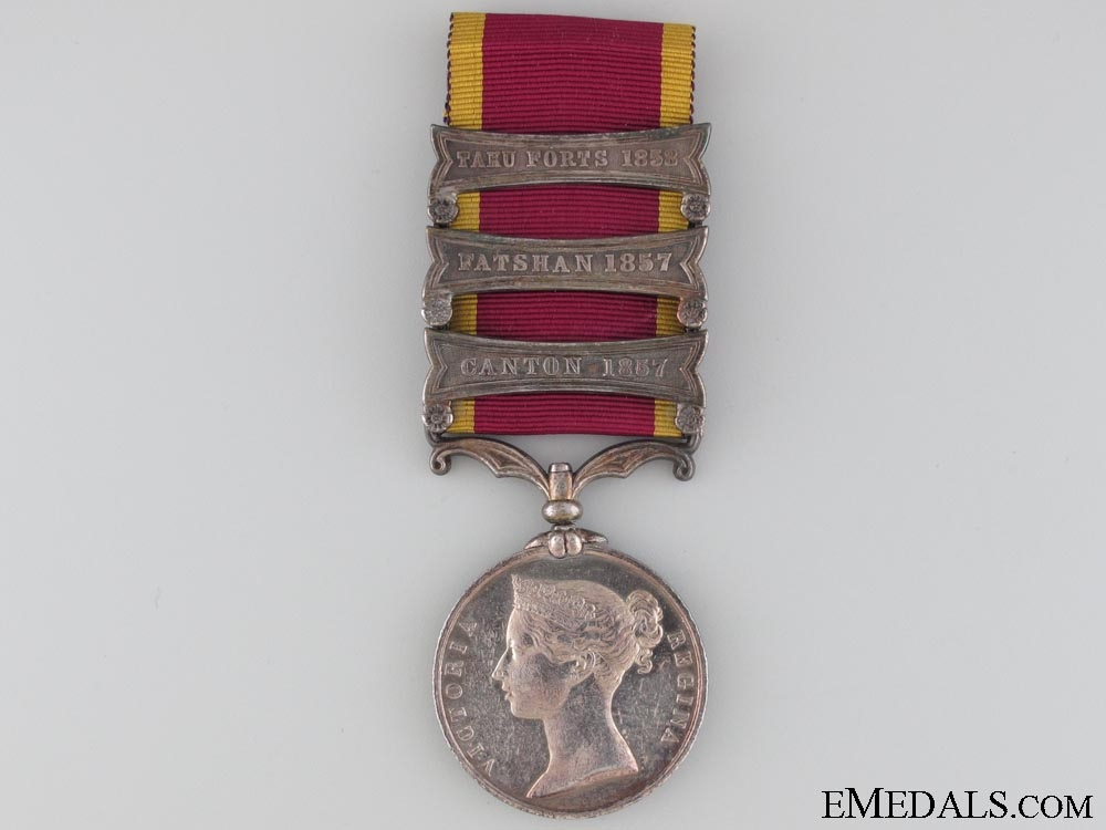 eMedals-Second China War Medal 1857-1860, Un-named