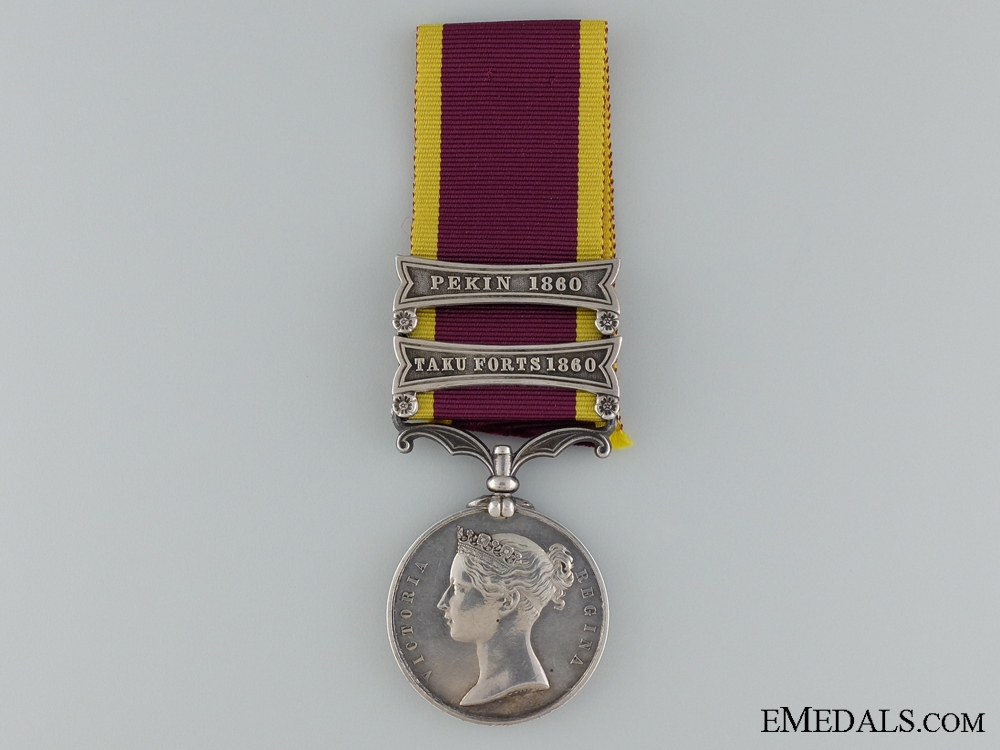 eMedals-Second China War Medal 1857-1860