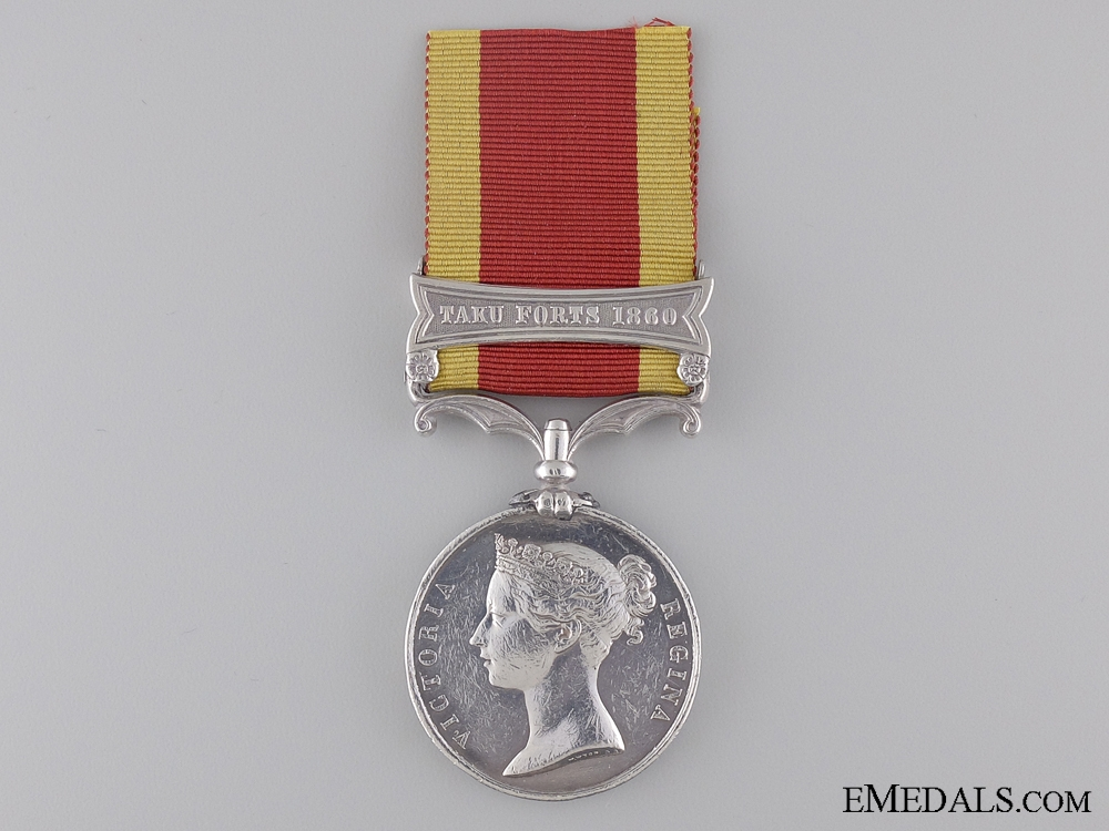 eMedals-Second China War Medal to the 1st Rifle Regiment