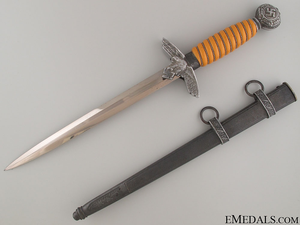 eMedals-Second Model Luftwaffe Dagger By Paul Weyersberg