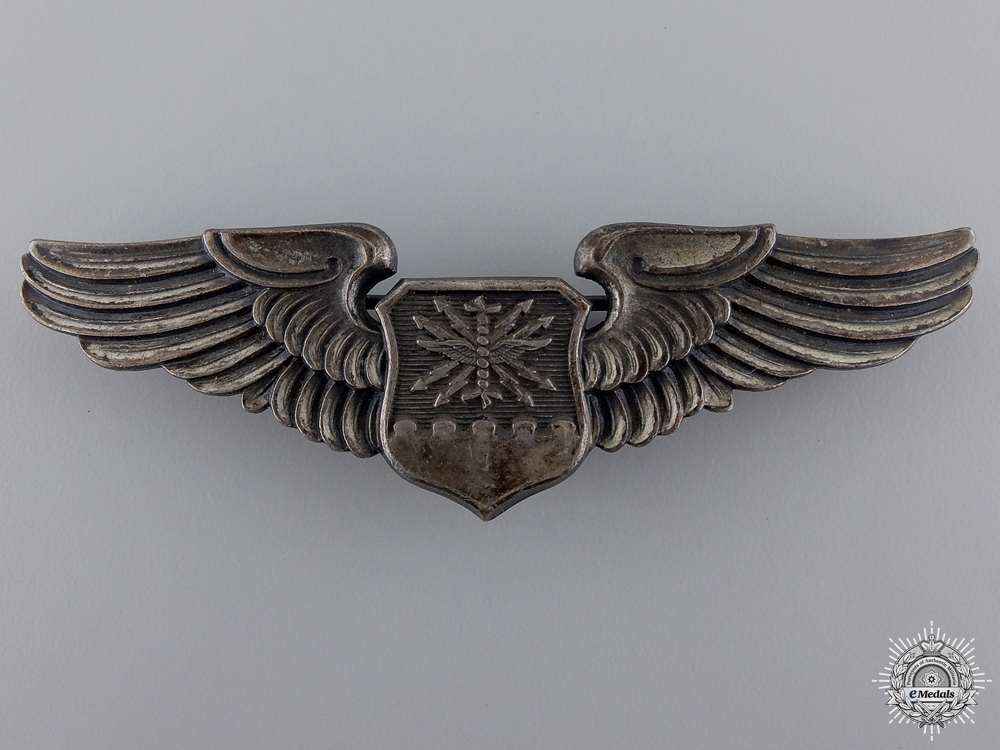 eMedals-Second War American Air Force Navigator/Observer Wings Badge
