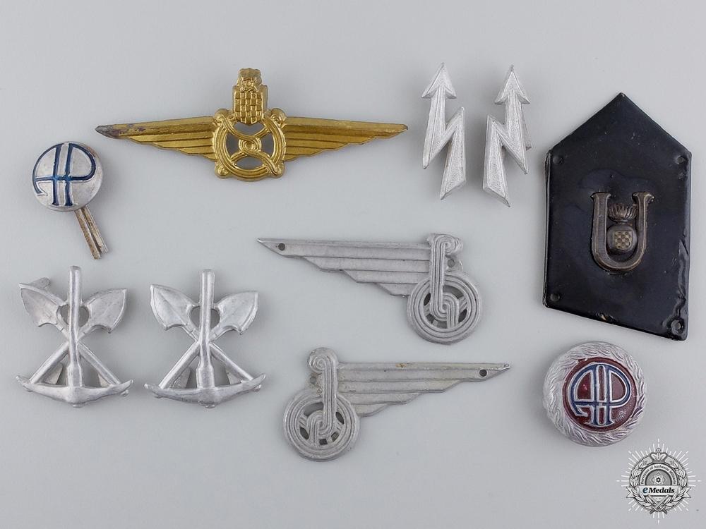 eMedals-Second War Croatian Insignia & Badges