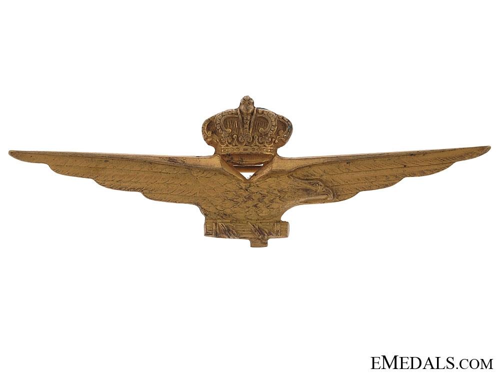 eMedals-Second War Italian Pilot Wings