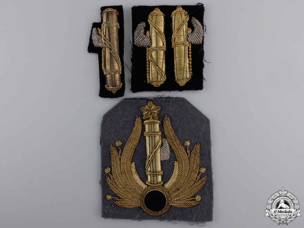 eMedals-Second War Italian Facist Bullion Insignia